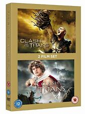 CLASH OF TITANS / CLASH OF THE TITANS - 2 FILM SET ( BRAND NEW & SEALED )