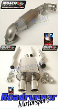 MILLTEK MINI MK2 R56 COOPER S EXHAUST TURBO BACK NON RES & SPORTS CAT TWIN GT80