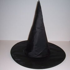 Black Cloth Witch Hat Halloween Costume Adult Child Party