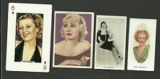 Joan Blondell Fab Card Collection A The Blue Veil American film TV actress