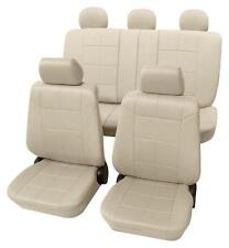 Beige Seat Covers with Classy Leather Look - Peugeot 206 Hatchback 1998 Onwards