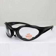Biker Chopper Fahrrad Sport Brille Sonnenbrille Splitterfrei Klare Gläser NEU