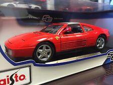 Maisto 1:18 Scale Special Edition Diecast Model -  Ferrari 348ts
