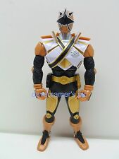 Power Rangers Samurai 2011 Switch Morphin Gold Ranger Action Figure not complete