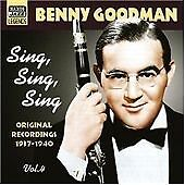 Benny Goodman-Sing, Sing, Sing Vol. 4 - Original Recordings 1937-40  CD NEW