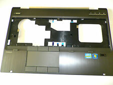 HP 8560W PALMREST TOUCHPAD UPPER CASE COVER WITH FINGERPRINT MODULE 652652-001
