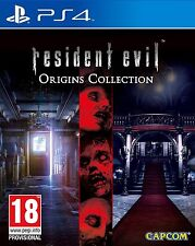 RESIDENT EVIL ORIGINS COLLECTION NUEVO PRECINTADO TEXTOS EN CASTELLANO  PS4