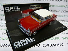voiture 1/43 IXO eagle moss OPEL collection n°82 : REKORD P II 1960/1963 rouge