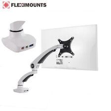 """Monitor Screen Arm Holder Full Motion Desk Desktop Mount 17 19 20 22 23 24 27"""""""