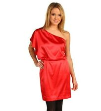 Jessica Simpson Women's Size 12 One Shoulder Red  Dress
