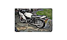 Bmw 650 Rt Motorbike A4 photo Retro Bike