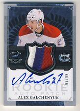 Alex Galchenyuk 2013-14 UD The Cup Hockey RPA Rookie Patch Auto Autograph 67/99