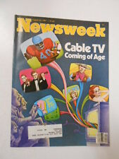 NEWSWEEK MAGAZINE 1981 August 24 Cable TV