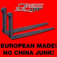 """NEW CLASS II 72"""" FORKS 1-3/4 X 5 X 72 CL2 PAIR 1.75 2 SET FORKLIFT FREE FREIGHT!"""