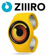 ZIIIRO Men's Gravity Hardened Mineral Crystal Quartz Analog (Banana) Watch