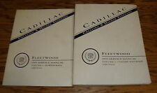 Original 1995 Cadillac Fleetwood Shop Service Manual Vol 1 & 2 Set 95