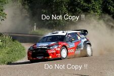Petter Solberg Citroen DS3 WRC 1000 Lakes Rally 2011 Photograph