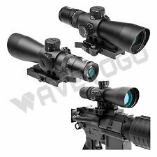 NcSTAR 3-9X42 Tactical Rifle Scope P4 Sniper Illuminated reticle Quick Release