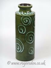 West German  Studio Pottery Green Vase 203-26