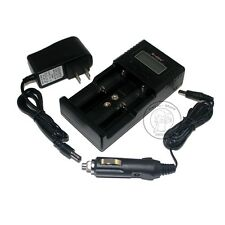 Soshine H2 AA AAA LiFePO4 NiMH 18650 16340 26650 Li-ion battery 12V Car Charger