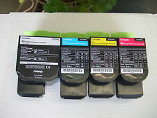 Lexmark 801 Full Set Black Cyan Yellow Magenta Toner to CX310 CX410 CX510 Series