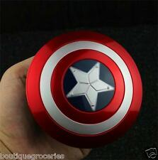 Avengers Alliance Marvel Captain America 10cm Metal Alloy Rotatable Shield Model