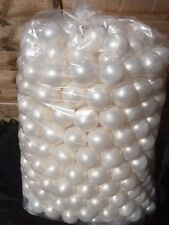 500 BRAND NEW SOFT PLAY BALLS -BALL PIT, POOL , COMMERCIAL GRADE CE - PEARL