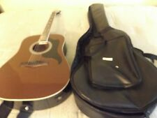 Acoustic/Electric Guitar with case, strap, and amplifier