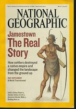 May 2007 National Geographic WITH MAP A World Transformed Jamestown Story