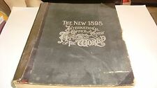 The New 1898 International Office and Family Atlas of the World 1898 Very Rare