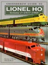 Lionel Ho, 1957-1966 (Greenberg's Guide to Lionel Ho Trains) by Horan, George J