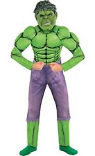 Marvel Comics Boys Child Hulk Muscle Halloween Costume Size 8-10 Medium NEW