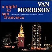 Van Morrison - Night in San Francisco 1994 CD 2 DISCS FREE UK POST