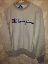 Champion 2 Tone Reverse Weave Chest Logo BIG C Medium Sweatshirt Jumper RRP