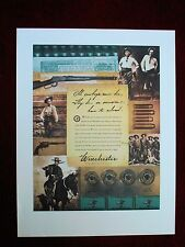 Winchester Ammunition Vintage 1996 Cowboy Action Shooting Poster Winchester Olin