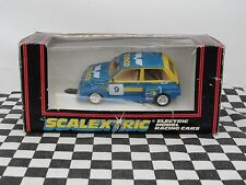 SCALEXTRIC 6R4 METRO TERNCO C360 BLUE/YELLOW #9 1:32 NEW OLD STOCK BOXED SCARCE