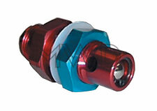 8AN Aluminum Fuel Cell Vent Roll Over Valve Tank Safety Ball Check Rollover Red
