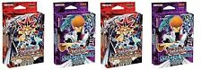 YuGiOh 4 Starter Decks Set:2 Yugi & 2 Kaiba Reloaded 1st Cards + Game Mat +Boxes