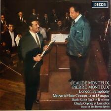 SXL 6112 Mozart Flute Concerto in D, Bach Suite No. 2, Gluck Orphee et Eurydi...