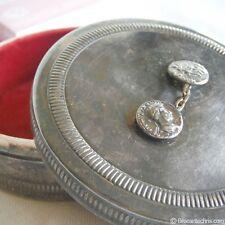 Boîte à bijoux en métal argenté - Christian Dior