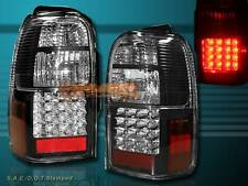 1996-2000 TOYOTA 4RUNNER BLACK LED TAIL LIGHTS PAIR NEW