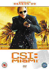 C.S.I.Crime Scene Investigation Miami Series 9 Complete (DVD, 2012, 6-Disc Set)