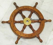"NAUTICAL COLLECTIBLE 18"" BOAT STEERING SHIPS WHEEL - PIRATE CAPTAIN SHIP WHEEL"