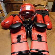 MACHO Adult L SPARRING GEAR HEAD,Hand,Foot  MARTIAL ARTS MMA TAEKWONDO