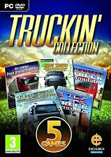 Truckin Collection (PC DVD) 5 Games 100% Brand New