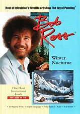 BOB ROSS THE JOY OF PAINTING: WINTER NOCTURNE (Bob Ross) - DVD - Region Free