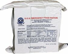 S.O.S Emergency Food Rations 3600 Calorie with 5 Year Shelf Life - (Pack of 10)