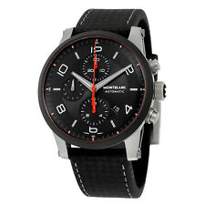 Montblanc Timewalker Urban Speed Chronograph Automatic Black Dial Mens Watch