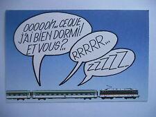 """CPM """"SNCF - Train de nuit - Le train du bon temps à bon prix"""""""