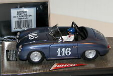 NINCO CLASSIC 50206 PORSCHE 356A SPEEDSTER SEBRING SUPER RARE HARD TO FIND  1/32